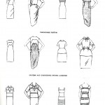 (2) Brockman illustrates the artistic principles of rhythm in fashion.